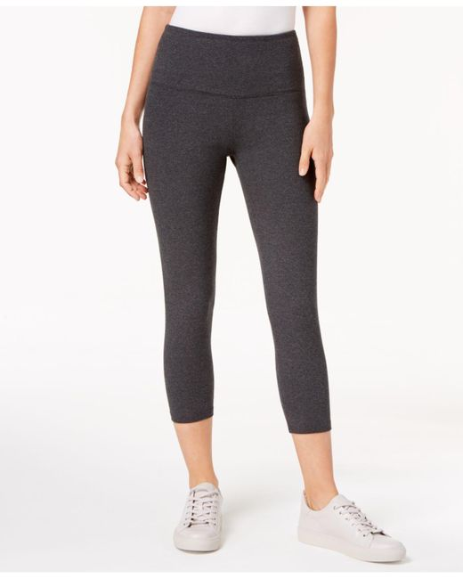 fcd1e00a50 Style & Co. - Gray Cropped Tummy-control Leggings, Created For Macy's ...