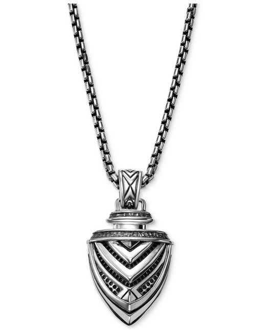 Scott Kay - Metallic Men's Arrow Pendant Necklace In Sterling Silver for Men - Lyst