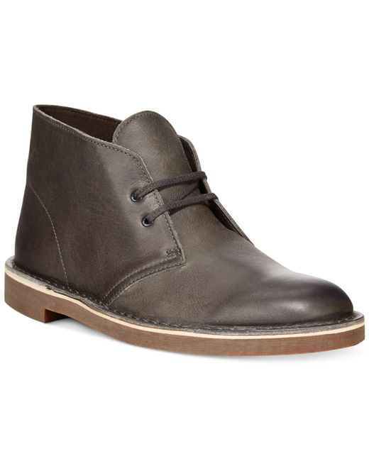 Clarks - Gray Shoes, Bushacre 2 Chukka Boots for Men - Lyst