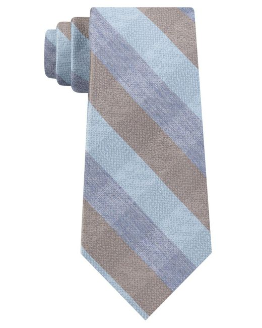 Kenneth Cole Reaction - Blue Vintage Check Tie for Men - Lyst