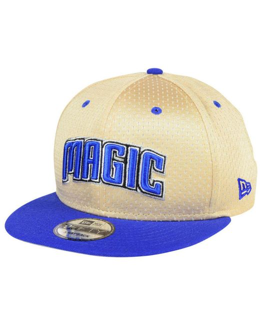 newest collection 07e9c 90095 ... KTZ - Blue Orlando Magic Champagne 9fifty Snapback Cap for Men - Lyst  ...