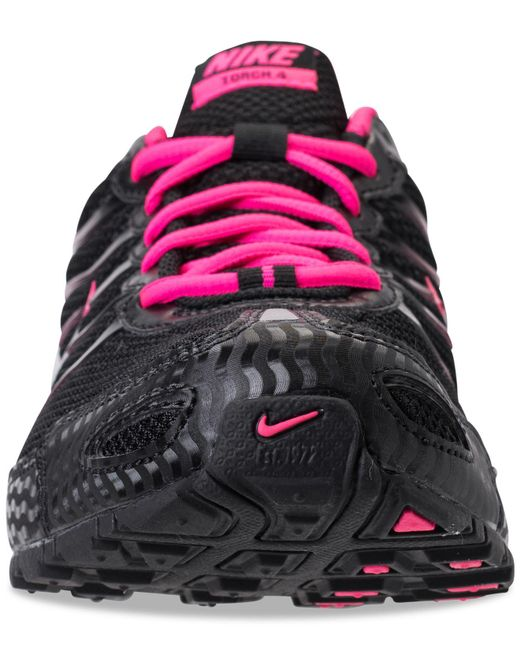 the latest e4dd4 ae364 ... Nike - Black Women s Air Max Torch 4 Running Sneakers From Finish Line  ...