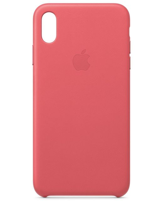 Apple - Pink Iphone Xs Max Leather Case - Lyst