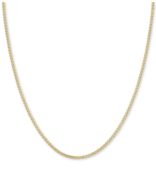 Macy's - Metallic Nonna Link Chain Collar Necklace In 14k Gold - Lyst