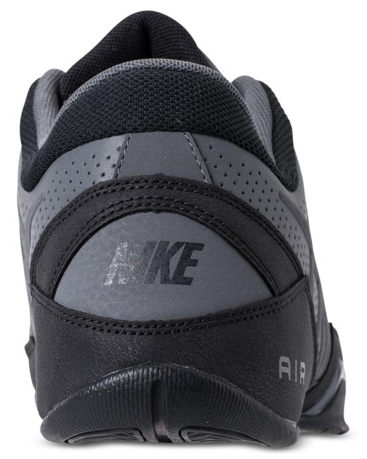 769ce2ccf4e ... Nike - Gray Air Ring Leader Low Basketball Sneakers From Finish Line  for Men - Lyst ...