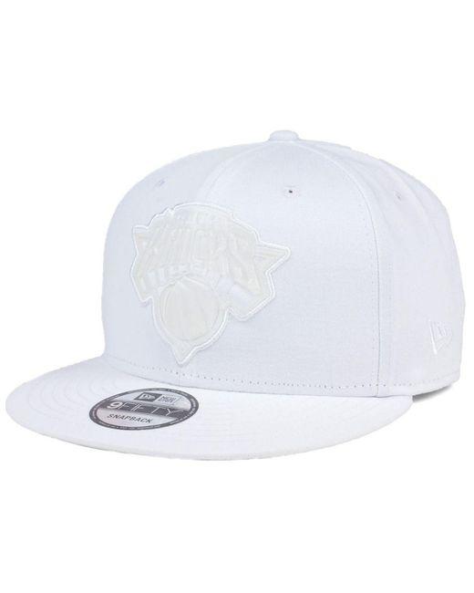 KTZ - White So Icey 9fifty Snapback Cap - Lyst