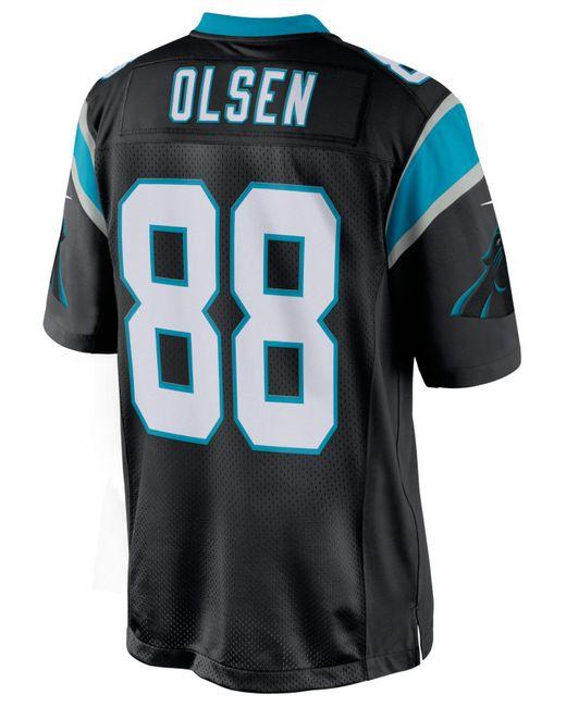 Nike Black Men's Greg Olsen Carolina Panthers Limited Jersey for men