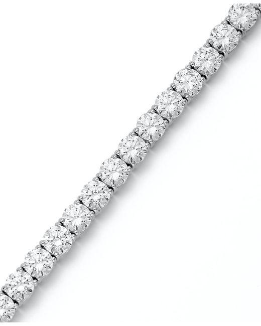 Arabella | Metallic Sterling Silver Bracelet, Swarovski Zirconia Tennis Bracelet (31 Ct. T.w.) | Lyst