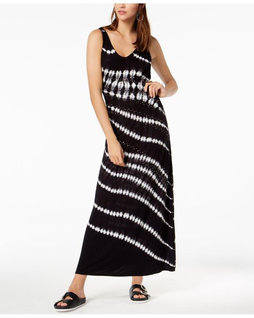 INC International Concepts - Black I.n.c. Petite Printed Embellished Maxi Dress, Created For Macy's - Lyst