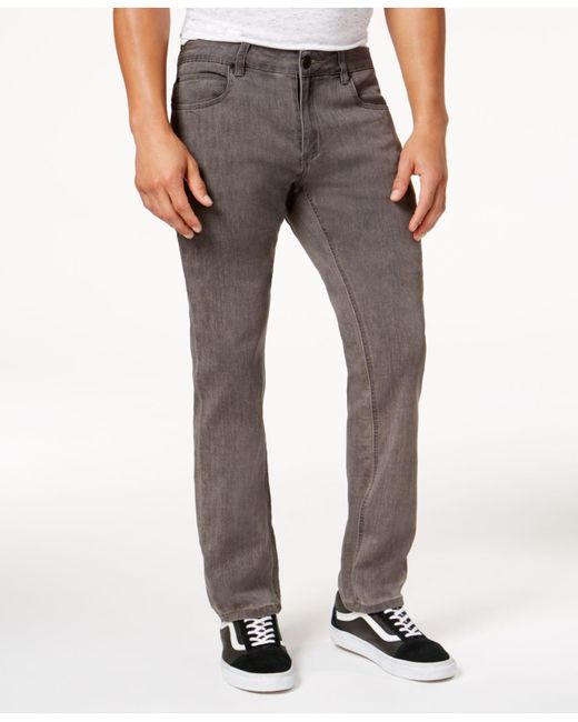 Ezekiel   Men's Gray Denim Jeans for Men   Lyst