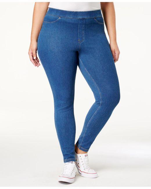Hue - Blue Original Jean Plus Leggings - Lyst