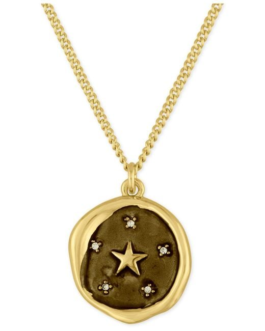 RACHEL Rachel Roy - Metallic Gold-tone Star Pendant Necklace - Lyst