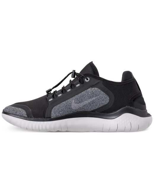 ... Nike - Black Free Rn 2018 Shield Running Sneakers From Finish Line for  Men - Lyst ... bc7aa716f