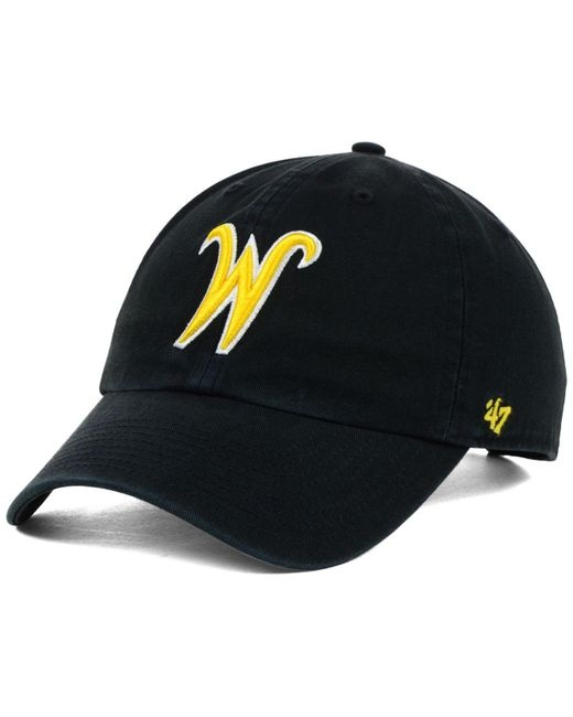 huge selection of dc1f5 9ed34 47 Brand - Black Wichita State Shockers Clean-up Cap for Men - Lyst ...