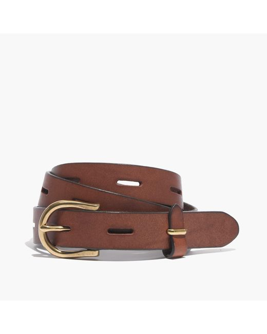 Madewell   Brown Backcountry Belt   Lyst