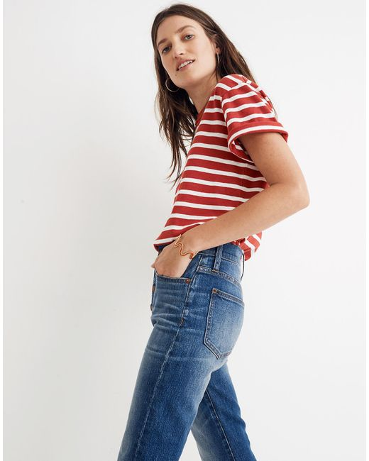 e8d15ed0a9 ... Madewell - Blue The Perfect Vintage Jean: Comfort Stretch Edition -  Lyst ...