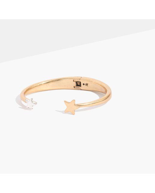 Madewell | Metallic Stellar Star Cuff Bracelet | Lyst