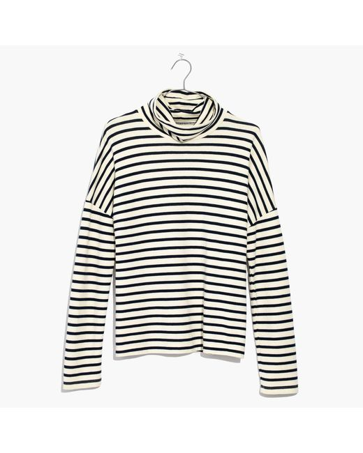 Madewell | Multicolor Sailor Stripe Turtleneck Top | Lyst