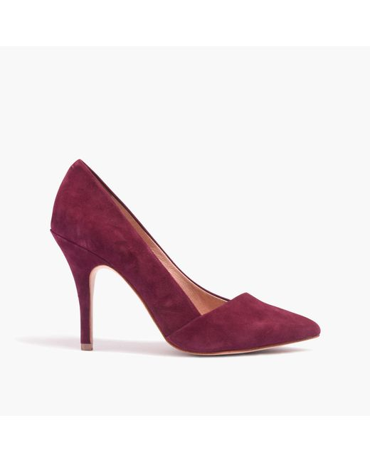 Madewell | Purple The Mira Heel | Lyst
