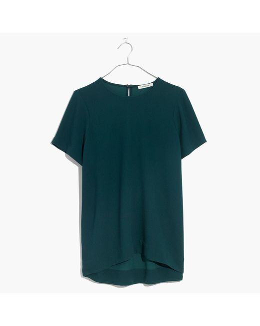 Madewell | Green Tailored Tee | Lyst