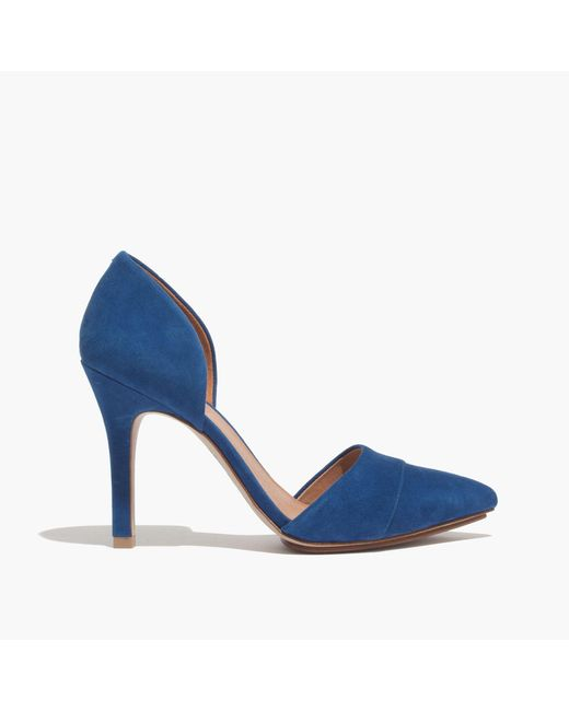 Madewell | Blue The D'orsay Heel | Lyst