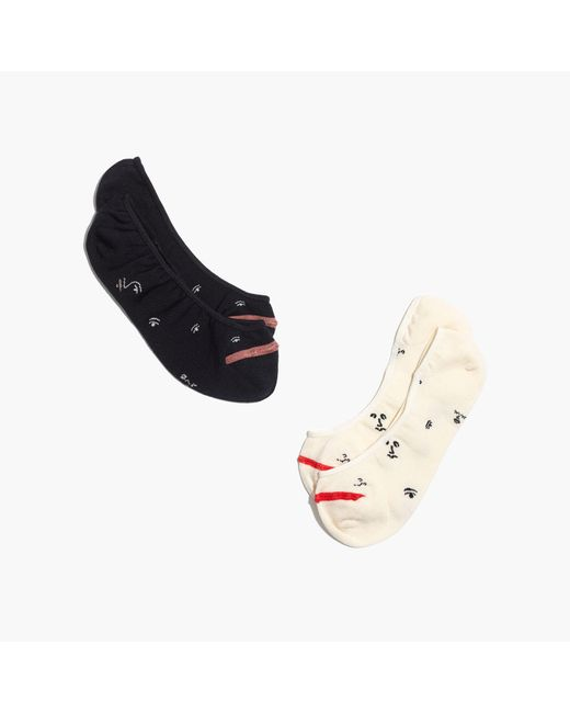 Madewell | Multicolor Two-pack Making Faces Low-profile Socks | Lyst