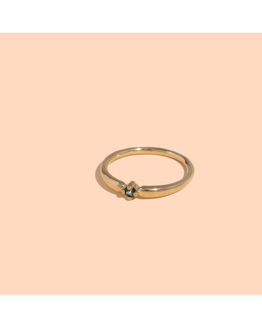 Madewell | Metallic X Windentm 14k Gold Rachel Sunstone Ring | Lyst