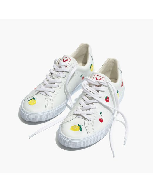 Madewell - Multicolor X Vejatm Fruit Embroidered Sneakers Esplar Low Sneakers - Lyst