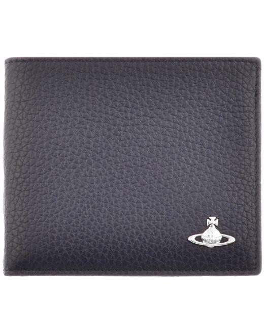 Vivienne Westwood | Leather Wallet Blue for Men | Lyst