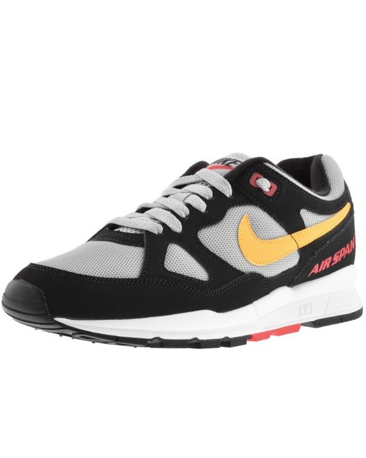 e31aaceb6fb Nike Air Span 2 Trainers Black in Black for Men - Lyst