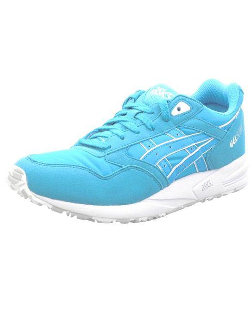 Asics | Gel Saga Trainers Blue for Men | Lyst