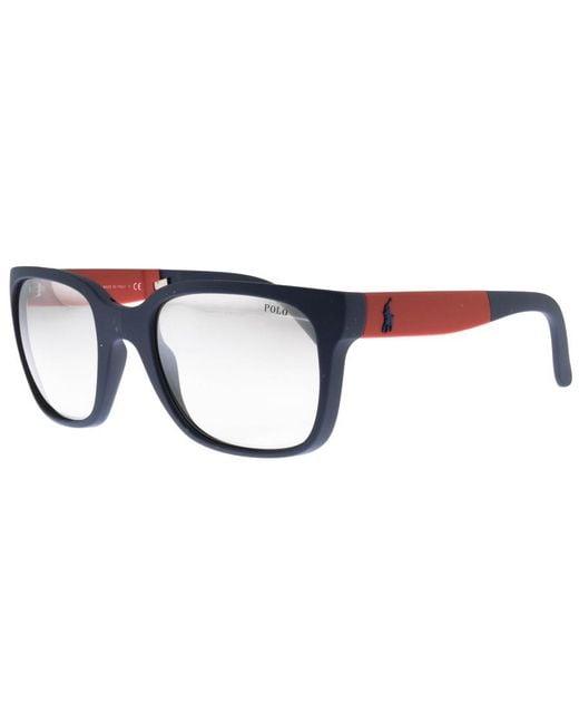 Ralph Lauren - Folding Sunglasses Blue for Men - Lyst