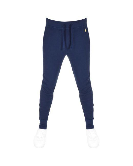 Ralph Lauren - Blue Jogging Bottoms Navy for Men - Lyst