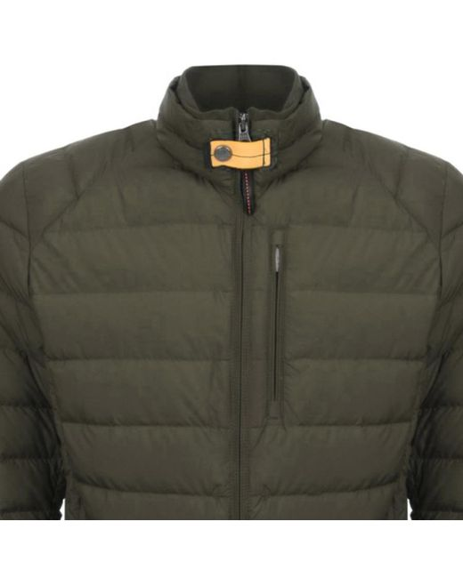Parajumpers - Ugo Down Jacket Green for Men - Lyst ...