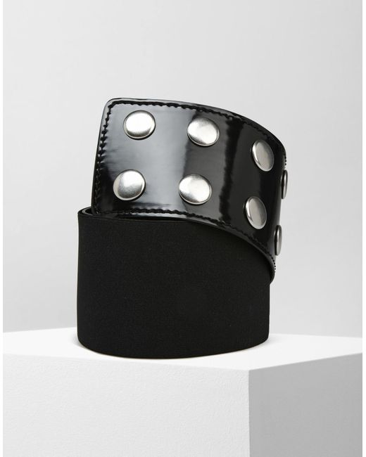 MM6 by Maison Martin Margiela | Black High-waisted Belt | Lyst