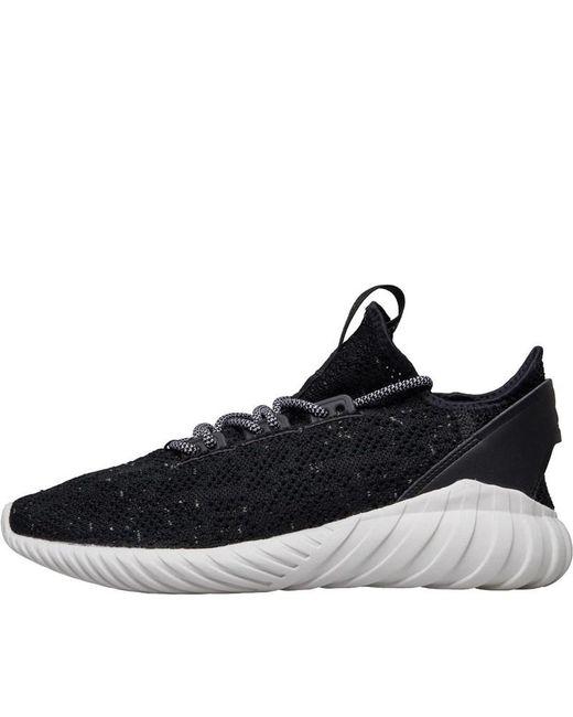 926d84e61e9 Adidas Originals - Tubular Doom Sock Primeknit Trainers Core Black footwear  White semi Frozen ...