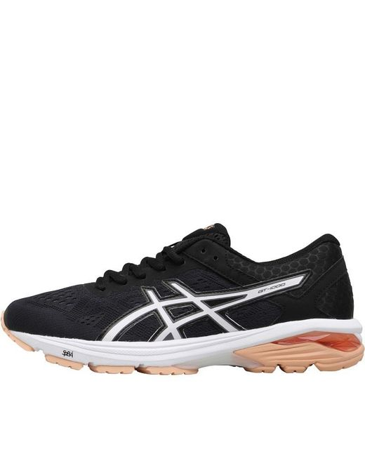 339c7b3d628 Asics - Gt 1000 6 Stability Running Shoes Black canteloupe carbon - Lyst ...