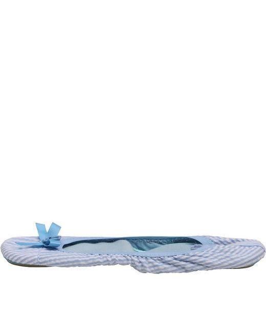Bedroom Athletics - Gina Slippers Blue Stripes - Lyst