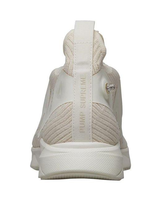 f71e775d5d03e ... Reebok - Gray Pump Supreme Style Trainers Premium  Classic White snowy  Grey for Men ...