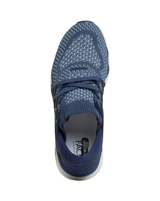 32d47ca55ad9 ... Reebok - Blue Custom Floatride Run Neutral Running Shoes Smokey  Indigo collegiate Navy white ...