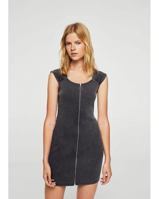 Mango | Gray Dress | Lyst