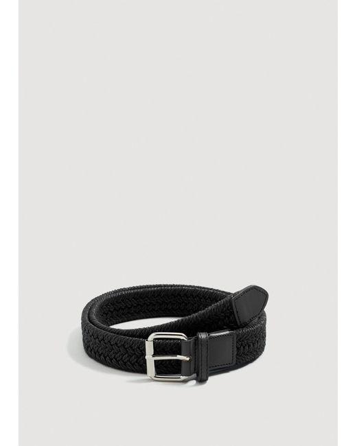Mango - Black Belt Mch for Men - Lyst