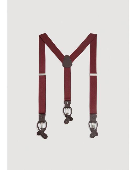 Mango - Multicolor Adjustable Elastic Braces for Men - Lyst
