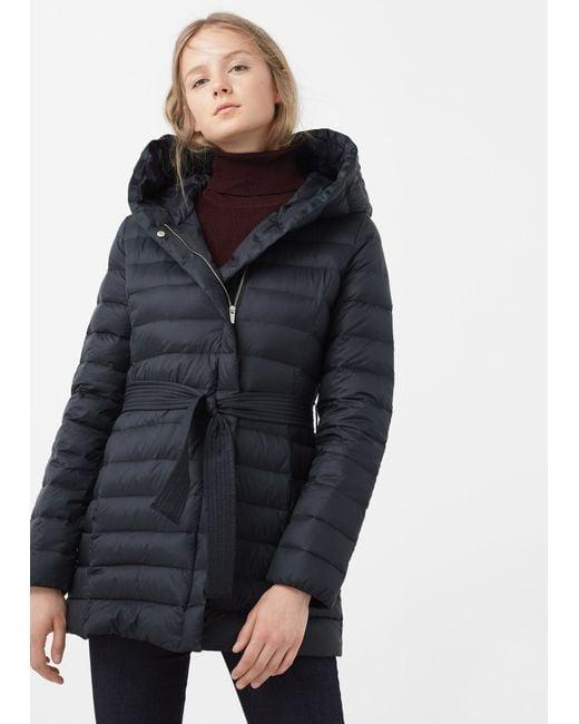 Black Feather Down Coat - Coat Nj