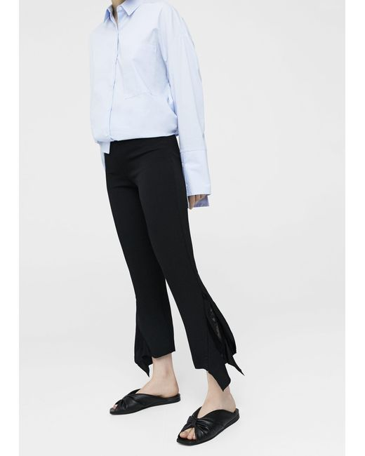 Mango - Black Trousers - Lyst