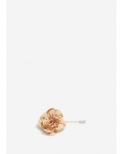 Mango - Multicolor Flower Lapel Pin - Lyst