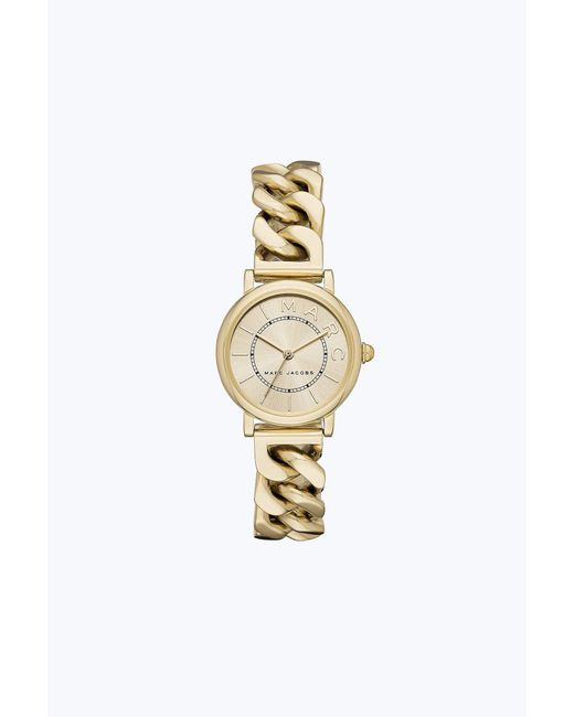 Marc Jacobs - Metallic The Classic Watch 28mm - Lyst