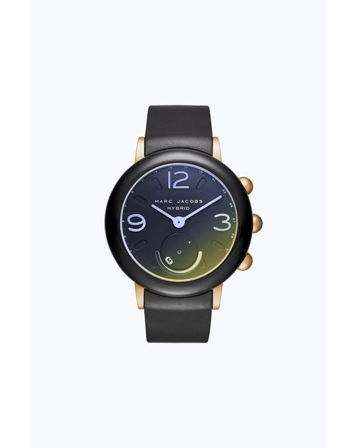 Marc Jacobs - Black Riley Hybrid Smartwatch - Lyst