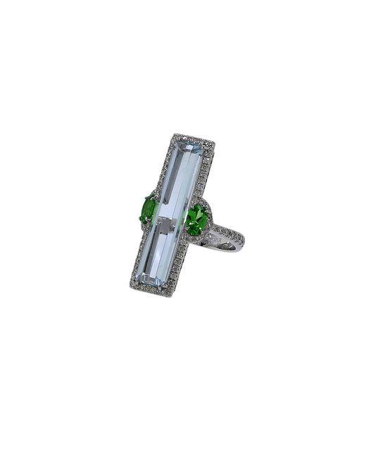 Inbar | Green Aquamarine Ring | Lyst