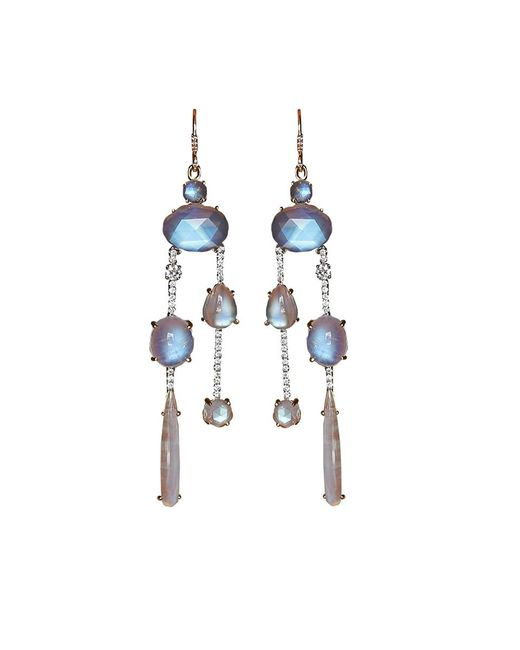 Irene Neuwirth | Multicolor Rainbow Moonstone Drop Earrings | Lyst